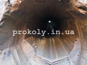 Вид туннеля на просвет